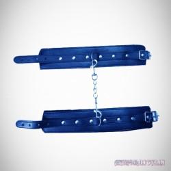 Premium Leather Naughty Nurse Wrist Cuffs Bondage Gear BDSM-021