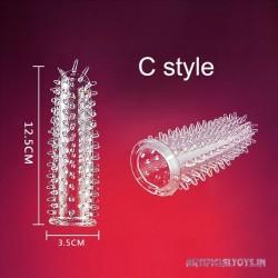 Spike Dotted For Men dildo sheath Condoms v1 PES-035